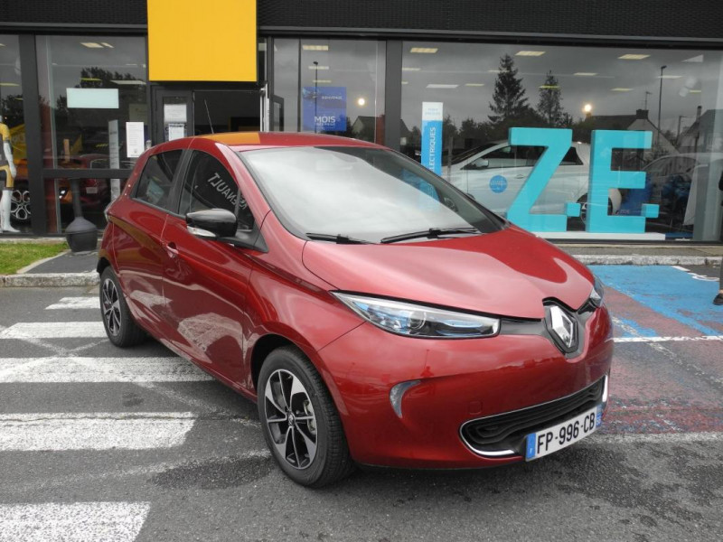 Renault Zoe E-Tech électrique Intens R110 2019 Rouge occasion à AURAY