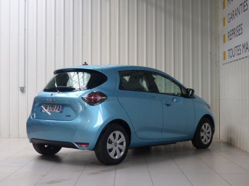 Renault Zoe E-Tech électrique Life R110 Bleu occasion à MORLAIX - photo n°3