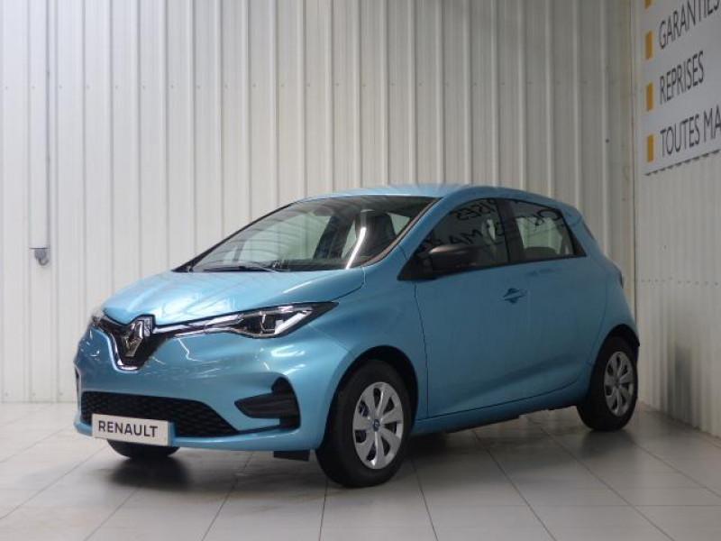 Renault Zoe E-Tech électrique Life R110 Bleu occasion à MORLAIX