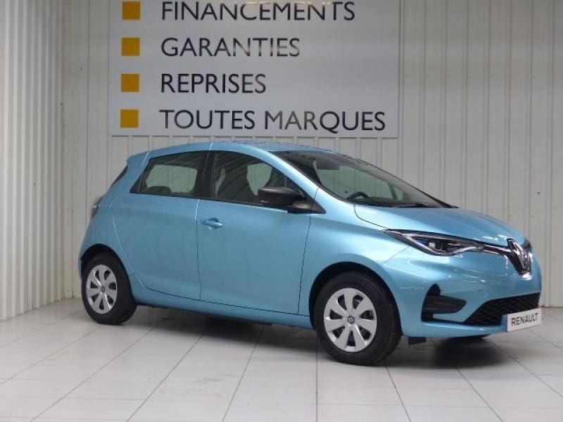 Renault Zoe E-Tech électrique Life R110 Bleu occasion à MORLAIX - photo n°2