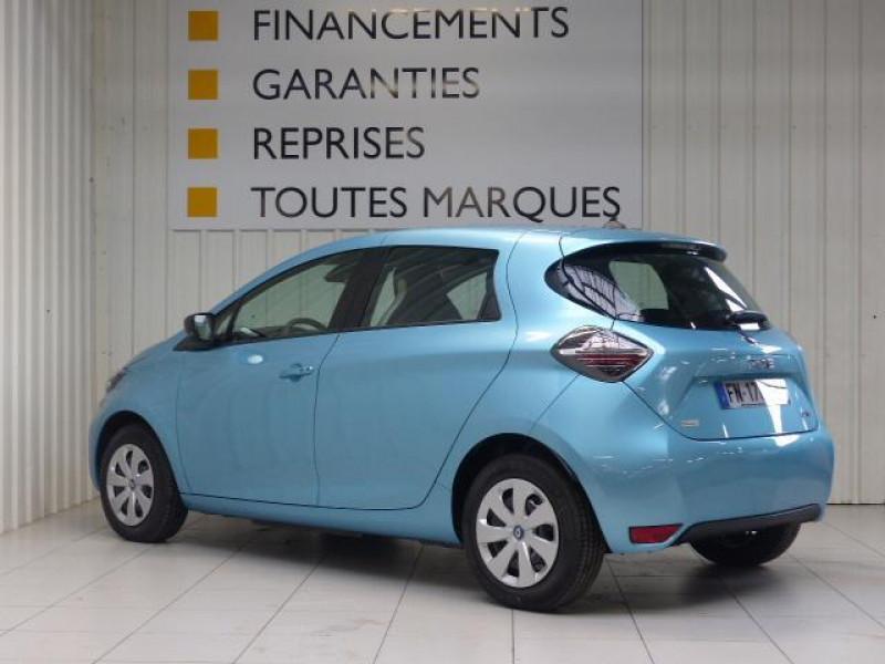 Renault Zoe E-Tech électrique Life R110 Bleu occasion à MORLAIX - photo n°4