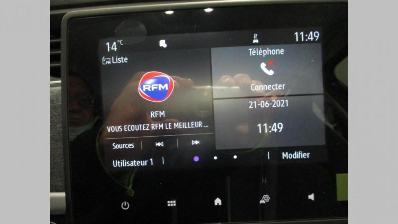 Renault Zoe E-Tech électrique Zen R110 - Achat Intégral -2020 Noir occasion à CHERBOURG-EN-COTENTIN - photo n°10