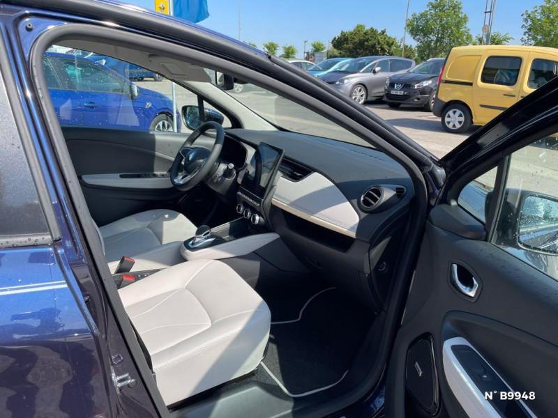 Renault Zoe E-Tech Exception charge normale R135 Achat Intégral - 21 Violet occasion à Persan - photo n°4
