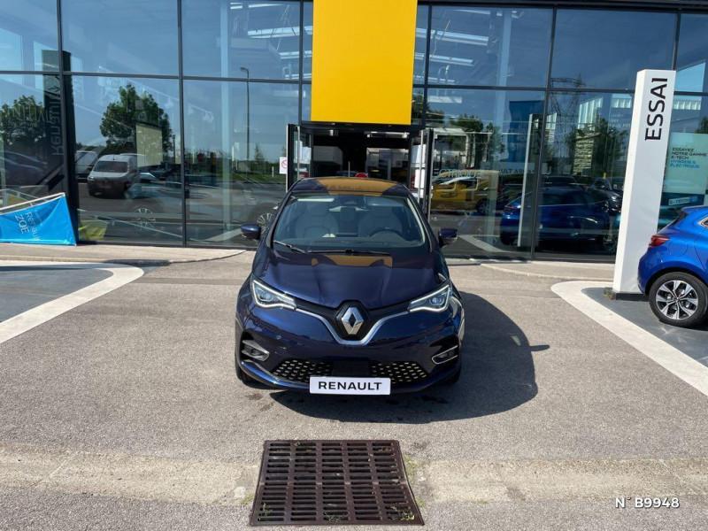 Renault Zoe E-Tech Exception charge normale R135 Achat Intégral - 21 Violet occasion à Persan - photo n°2
