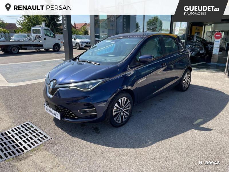Renault Zoe E-Tech Exception charge normale R135 Achat Intégral - 21 Violet occasion à Persan