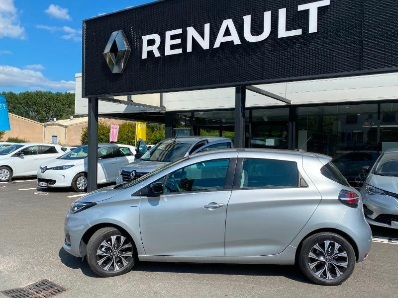 Renault Zoe E-Tech Limited charge normale R110 Achat Intégral - 21 Gris occasion à Figeac - photo n°4