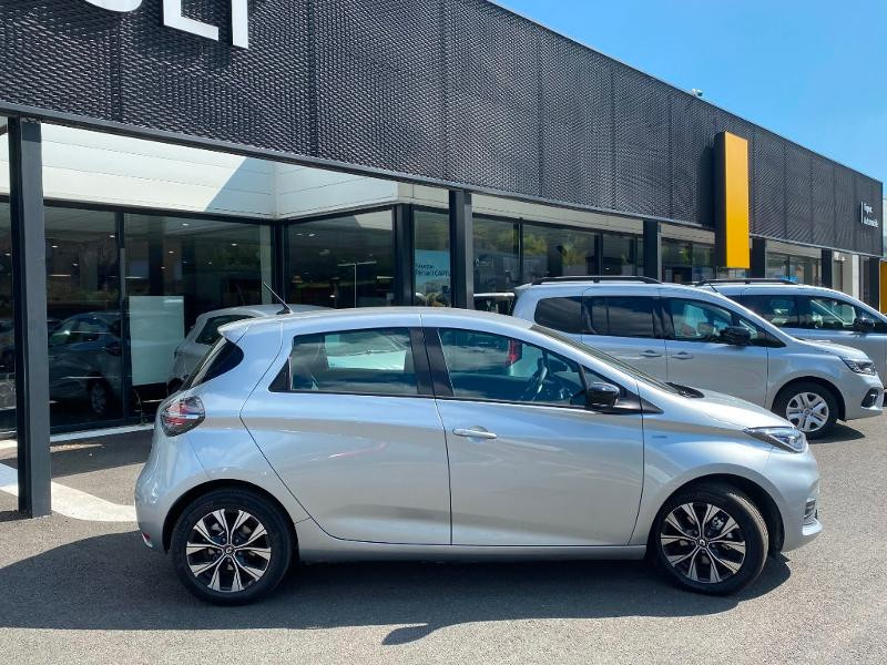 Renault Zoe E-Tech Limited charge normale R110 Achat Intégral - 21 Gris occasion à Figeac - photo n°6