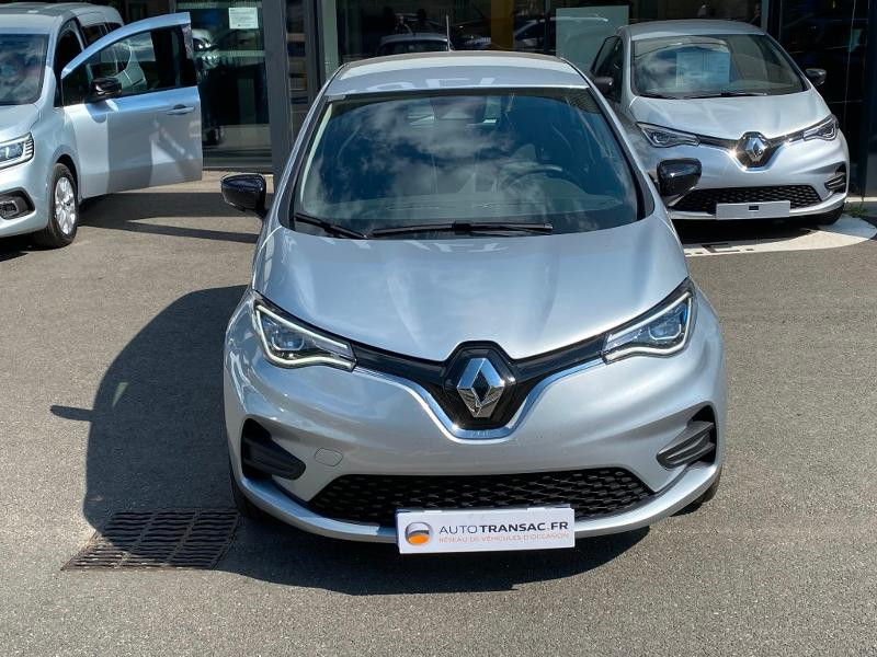 Renault Zoe E-Tech Limited charge normale R110 Achat Intégral - 21 Gris occasion à Figeac - photo n°2