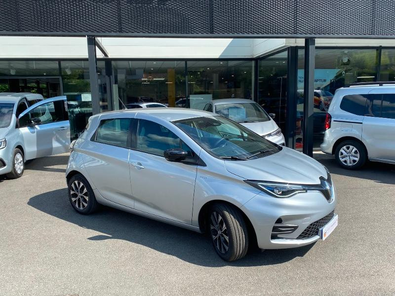 Renault Zoe E-Tech Limited charge normale R110 Achat Intégral - 21 Gris occasion à Figeac - photo n°3