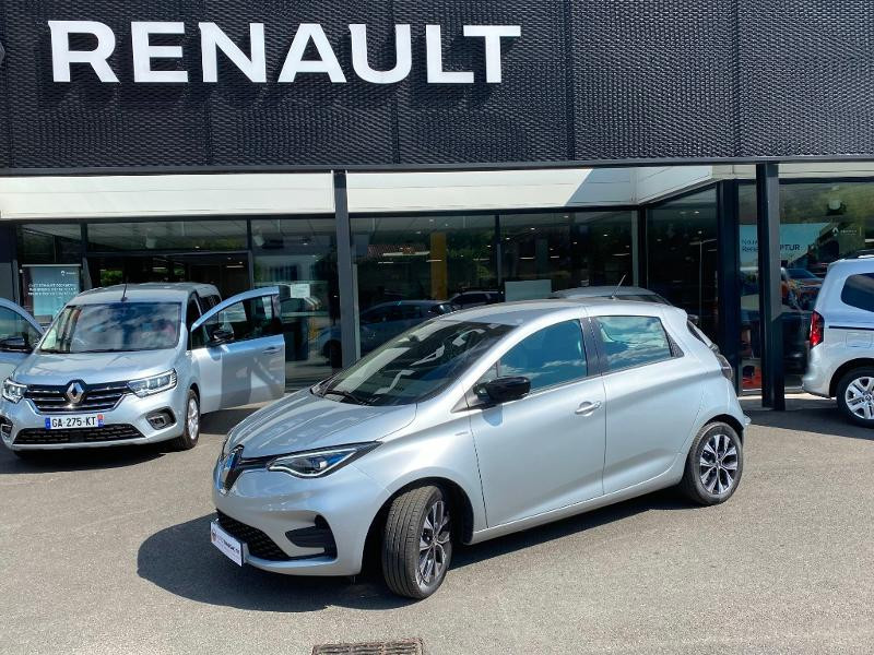Renault Zoe E-Tech Limited charge normale R110 Achat Intégral - 21 Gris occasion à Figeac