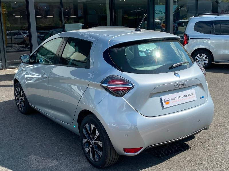 Renault Zoe E-Tech Limited charge normale R110 Achat Intégral - 21 Gris occasion à Figeac - photo n°7