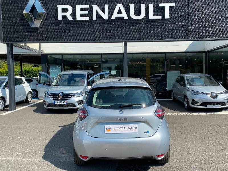 Renault Zoe E-Tech Limited charge normale R110 Achat Intégral - 21 Gris occasion à Figeac - photo n°5
