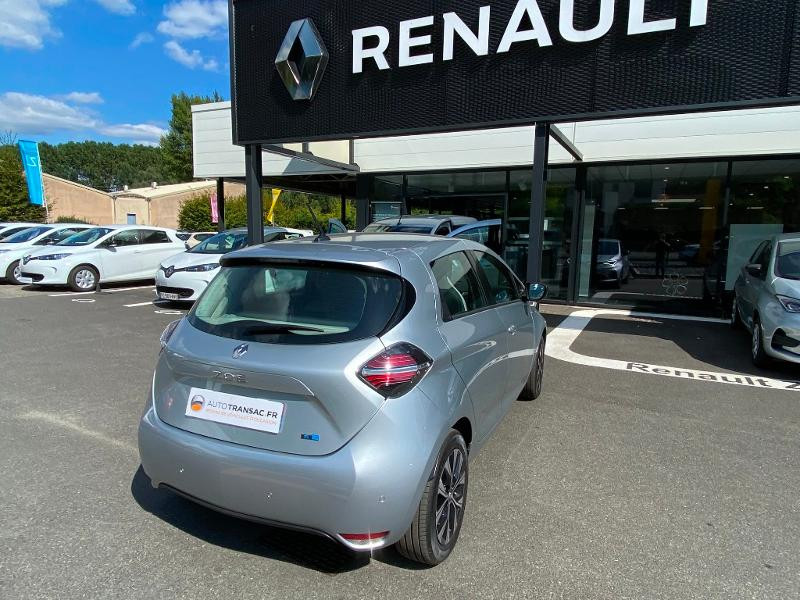 Renault Zoe E-Tech Limited charge normale R110 Achat Intégral - 21 Gris occasion à Figeac - photo n°8