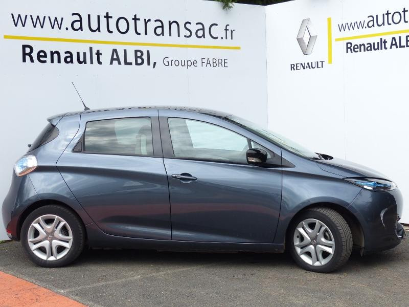 Renault Zoe E-Tech Zen charge normale R110 Achat Intégral - 21 Gris occasion à Figeac - photo n°6