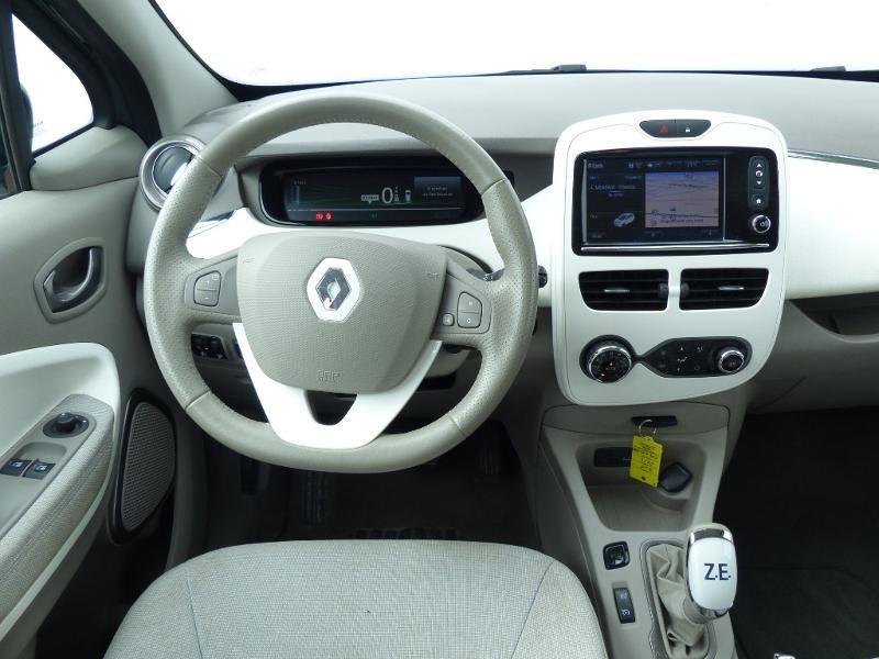 Renault Zoe E-Tech Zen charge normale R110 Achat Intégral - 21 Gris occasion à Figeac - photo n°12