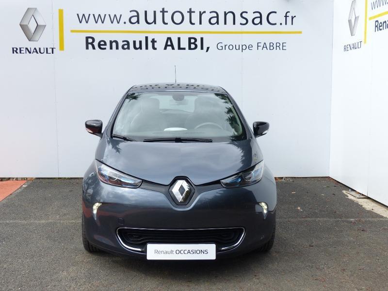 Renault Zoe E-Tech Zen charge normale R110 Achat Intégral - 21 Gris occasion à Figeac - photo n°2
