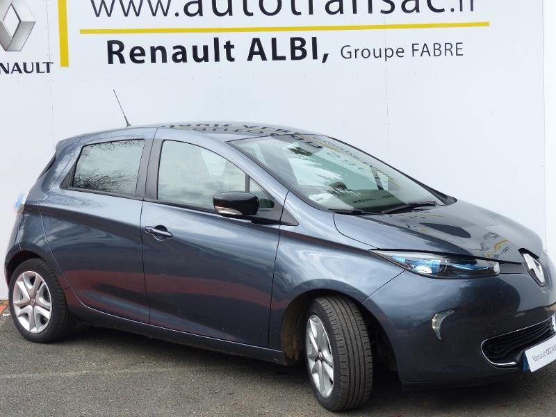 Renault Zoe E-Tech Zen charge normale R110 Achat Intégral - 21 Gris occasion à Figeac - photo n°3