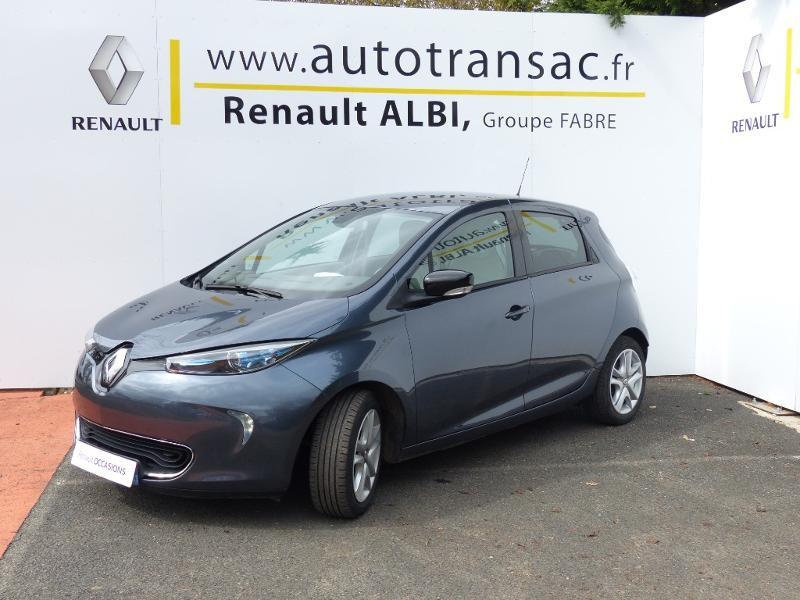 Renault Zoe E-Tech Zen charge normale R110 Achat Intégral - 21 Gris occasion à Figeac