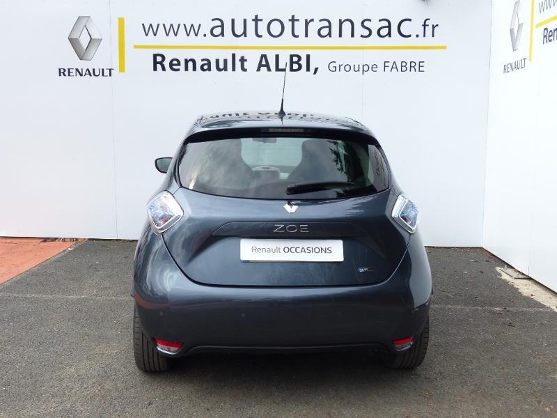 Renault Zoe E-Tech Zen charge normale R110 Achat Intégral - 21 Gris occasion à Figeac - photo n°5