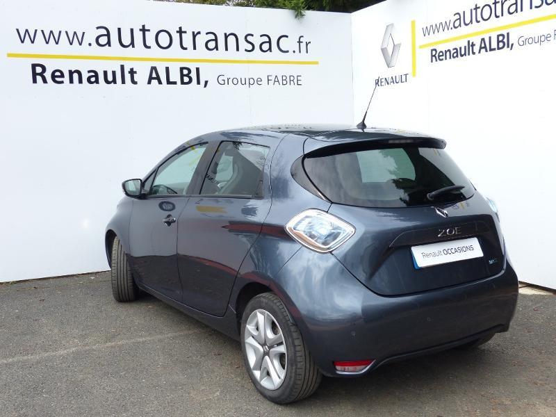 Renault Zoe E-Tech Zen charge normale R110 Achat Intégral - 21 Gris occasion à Figeac - photo n°7
