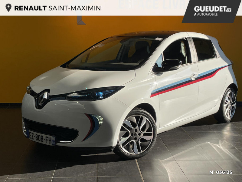 Renault Zoe Edition One charge normale R90 Blanc occasion à Saint-Maximin
