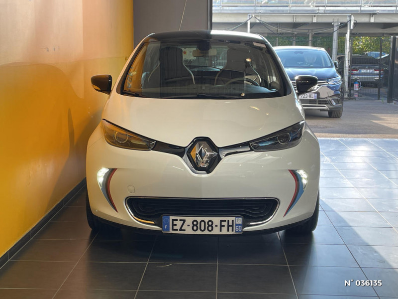 Renault Zoe Edition One charge normale R90 Blanc occasion à Saint-Maximin - photo n°2