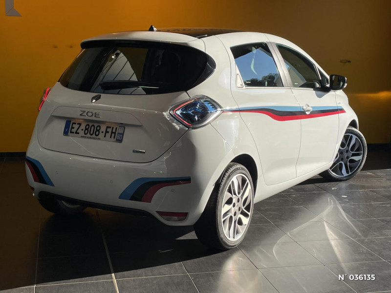Renault Zoe Edition One charge normale R90 Blanc occasion à Saint-Maximin - photo n°6