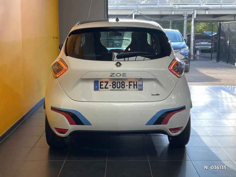 Renault Zoe Edition One charge normale R90 Blanc occasion à Saint-Maximin - photo n°3