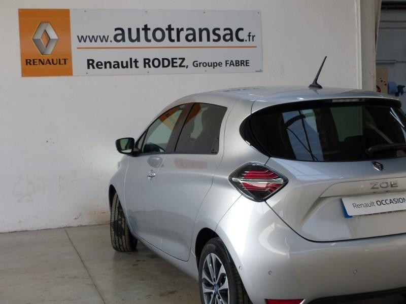 Renault Zoe Intens charge normale R135 - 20 Gris occasion à Figeac - photo n°8