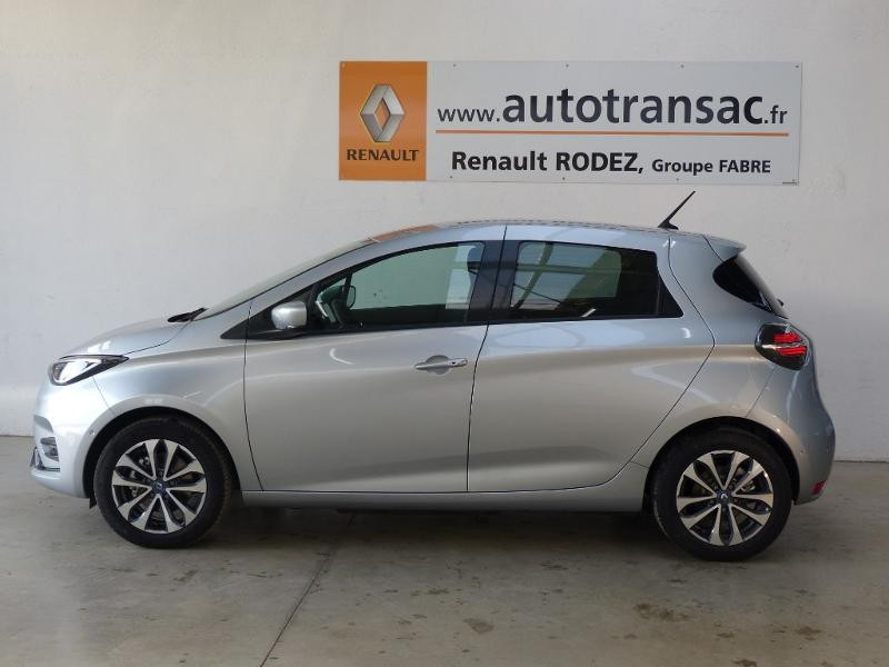 Renault Zoe Intens charge normale R135 - 20 Gris occasion à Figeac - photo n°4