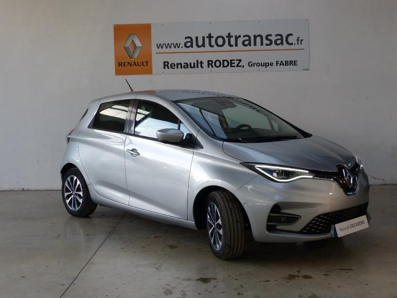 Renault Zoe Intens charge normale R135 - 20 Gris occasion à Figeac - photo n°3