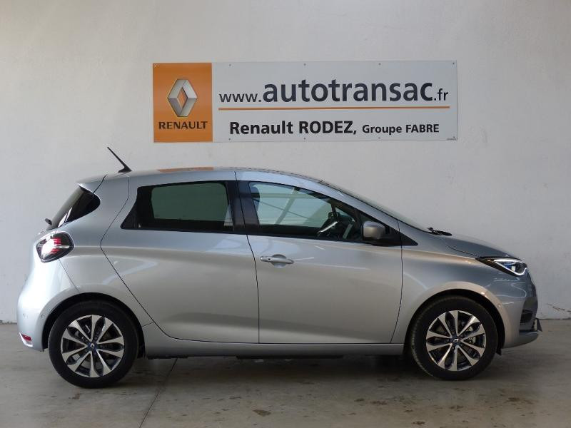Renault Zoe Intens charge normale R135 - 20 Gris occasion à Figeac - photo n°6