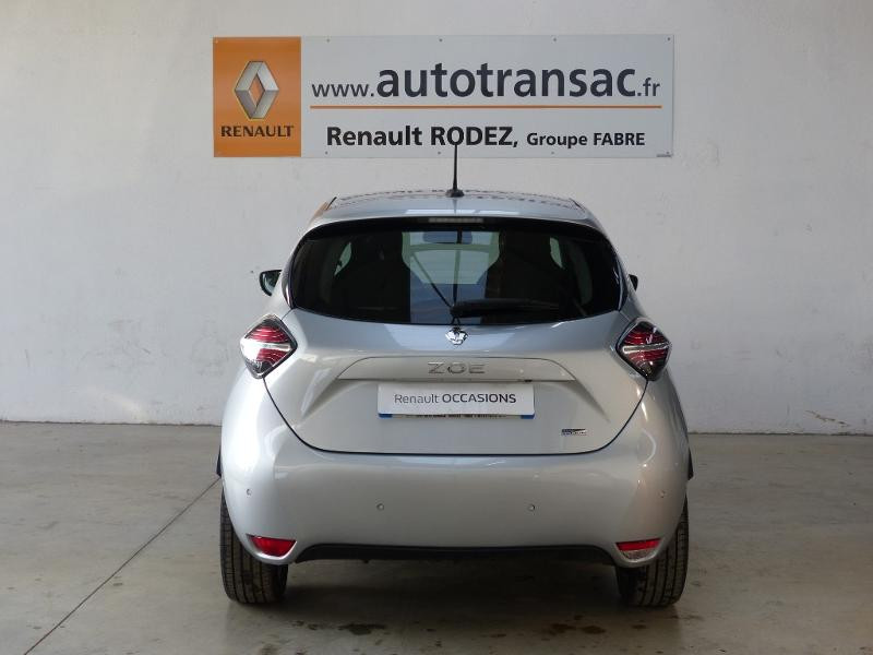 Renault Zoe Intens charge normale R135 - 20 Gris occasion à Figeac - photo n°5
