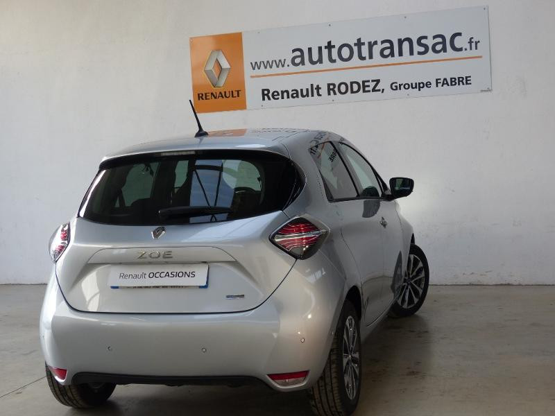 Renault Zoe Intens charge normale R135 - 20 Gris occasion à Figeac - photo n°7