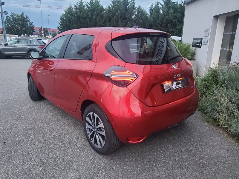 Renault Zoe INTENS CHARGE NORMALE R135 ACHAT INTEGRAL - 21 Rouge occasion à Colomiers - photo n°4