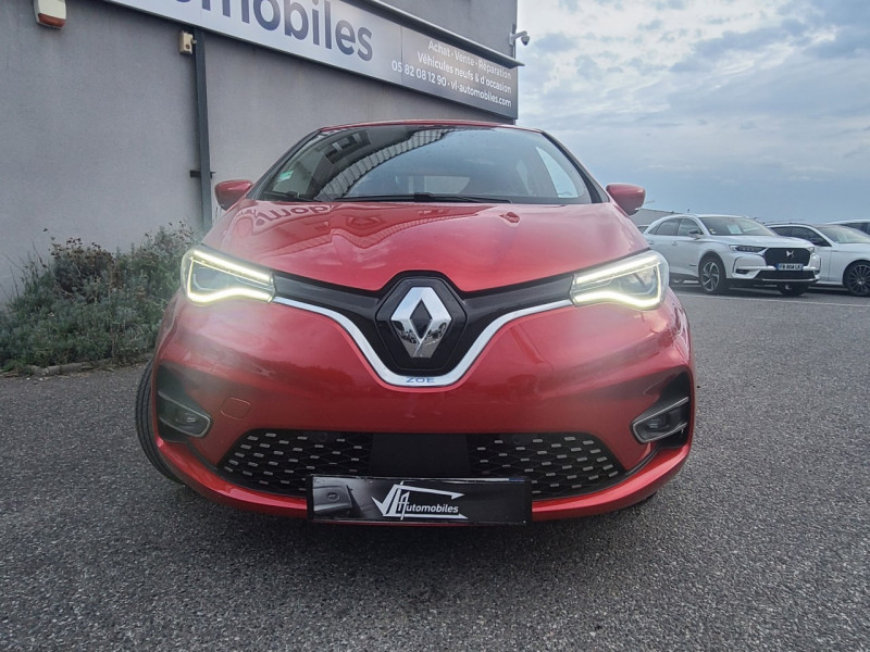 Renault Zoe INTENS CHARGE NORMALE R135 ACHAT INTEGRAL - 21 Rouge occasion à Colomiers - photo n°3