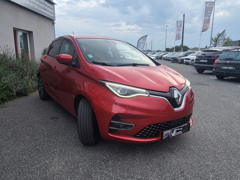 Renault Zoe INTENS CHARGE NORMALE R135 ACHAT INTEGRAL - 21 Rouge occasion à Colomiers - photo n°2