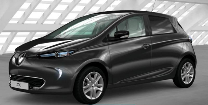 Renault Zoe Intens charge normale R90 Gris occasion à PONTIVY