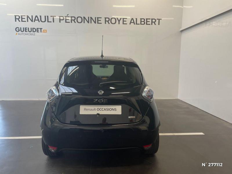 Renault Zoe Intens charge normale R90 Noir occasion à Péronne - photo n°3