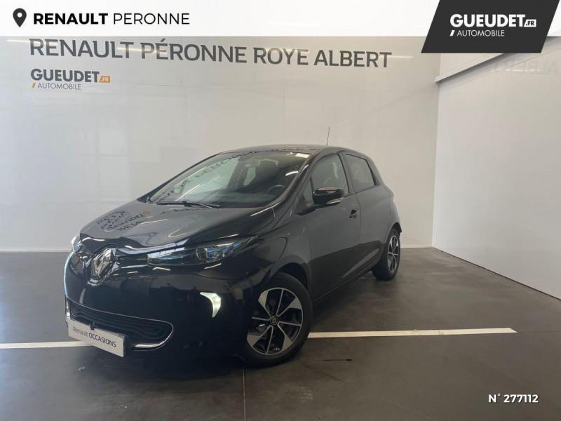 Renault Zoe Intens charge normale R90 Noir occasion à Péronne