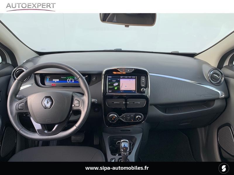 Renault Zoe Intens charge rapide Q90 MY18 Blanc occasion à Villenave-d'Ornon - photo n°3
