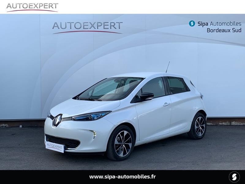 Renault Zoe Intens charge rapide Q90 MY18 Blanc occasion à Villenave-d'Ornon