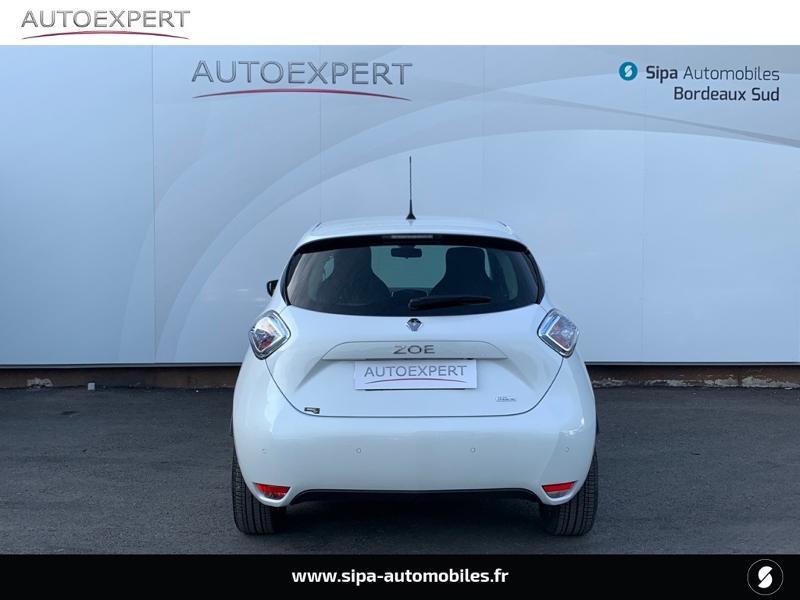 Renault Zoe Intens charge rapide Q90 MY18 Blanc occasion à Villenave-d'Ornon - photo n°9
