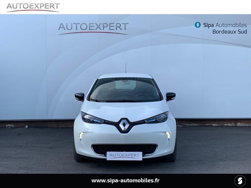 Renault Zoe Intens charge rapide Q90 MY18 Blanc occasion à Villenave-d'Ornon - photo n°8