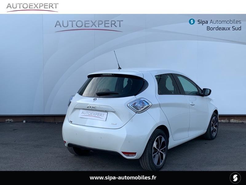 Renault Zoe Intens charge rapide Q90 MY18 Blanc occasion à Villenave-d'Ornon - photo n°2