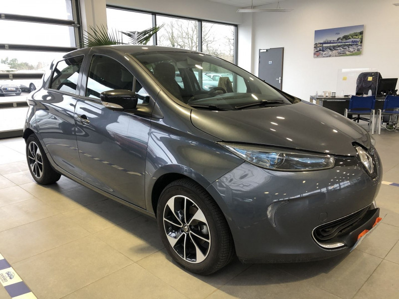 Renault Zoe INTENS R110 ACHAT INTEGRAL MY19 Gris occasion à Mérignac - photo n°4