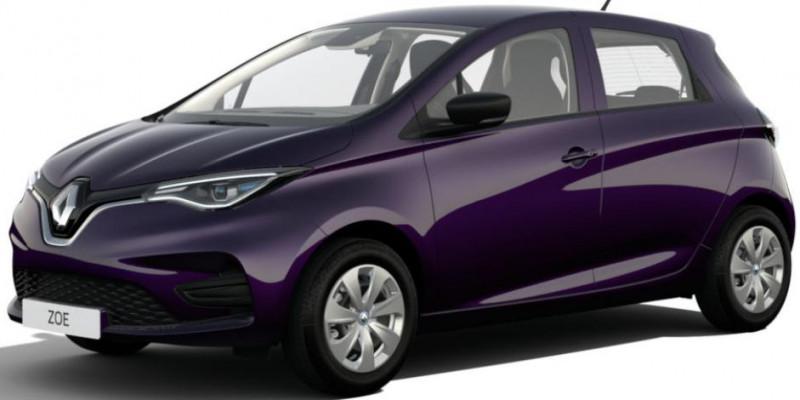 Renault Zoe Life charge normale R110 Achat Intégral - 20 Violet occasion à Aire sur Adour
