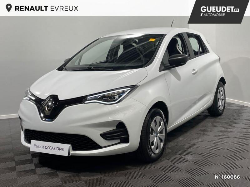 Renault Zoe Life charge normale R110 Achat Intégral - 20 Blanc occasion à Évreux