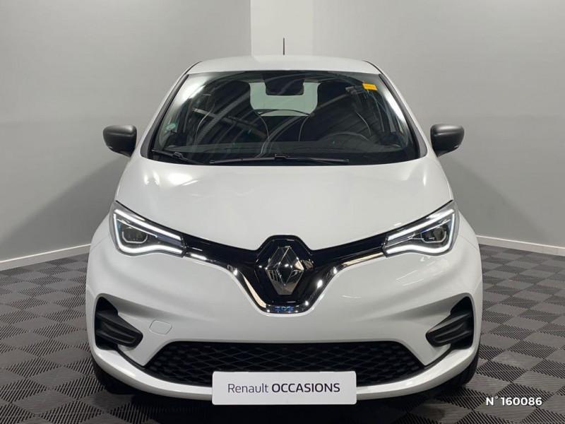 Renault Zoe Life charge normale R110 Achat Intégral - 20 Blanc occasion à Évreux - photo n°2