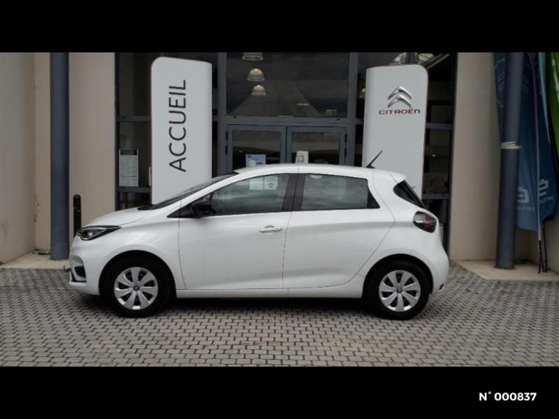 Renault Zoe Life charge normale R110 Achat Intégral 4cv Blanc occasion à Écuelles - photo n°2